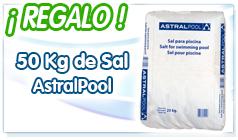 regalo 50 kg de sal cloración salina