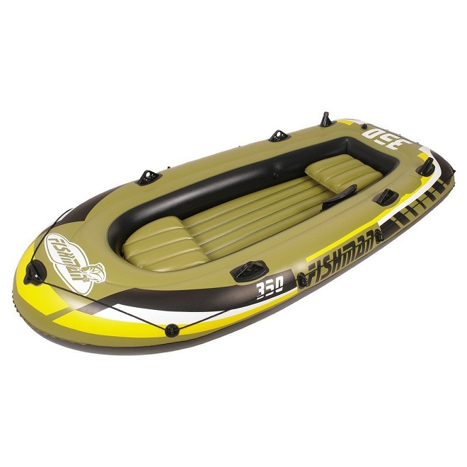 Barca Hinchable Fishman 350 Set