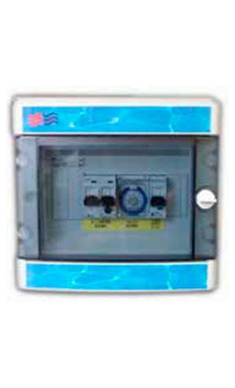Cuadro eléctrico bomba filtro