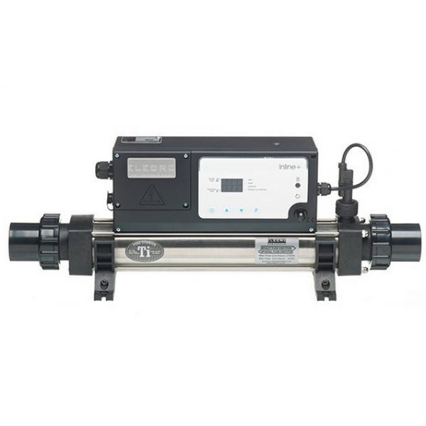 Calentador Elecro InLine+ Titanio Digital