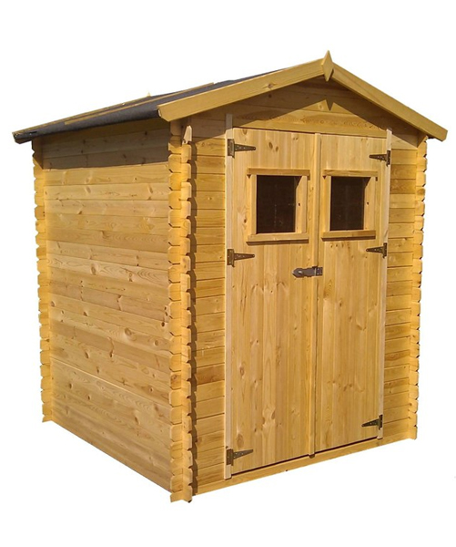 Cobertizo madera 200 x 250 x 218 cm