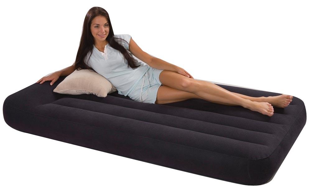 Colchón hinchable Pillow Rest Intex 99x191x23cm