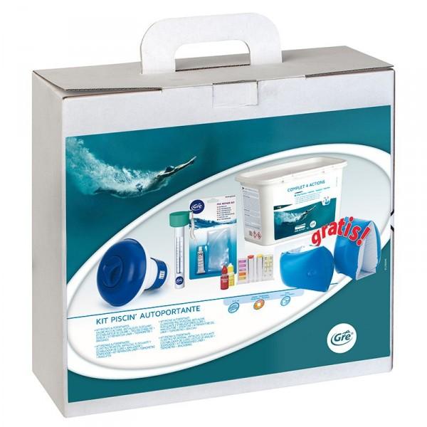 Kit tratamiento piscinas gre outlet piscinas for Tratamiento piscinas