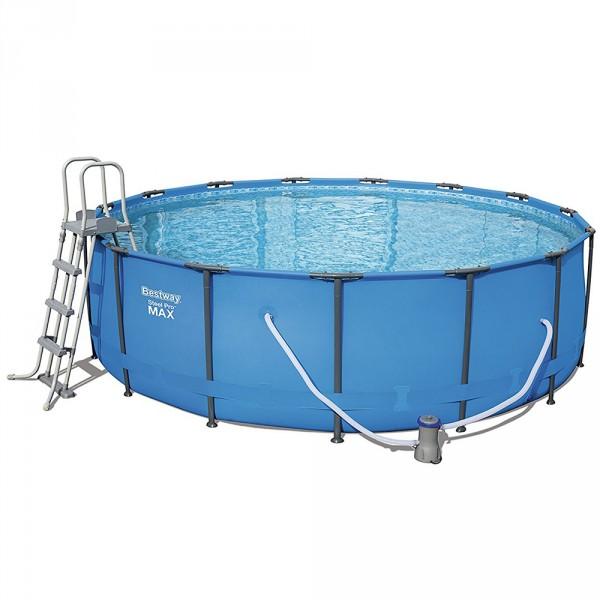 Piscina bestway steel pro 366x122 outlet piscinas for Piscina best way