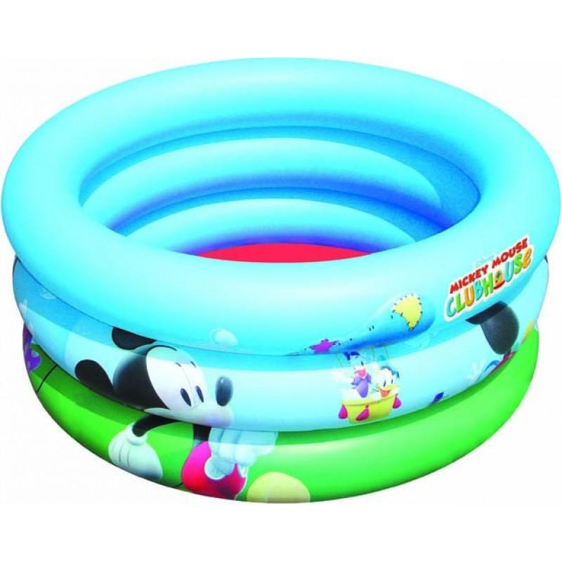 Piscina para beb s hinchable mickey mouse outlet piscinas for Piscina hinchable bebe
