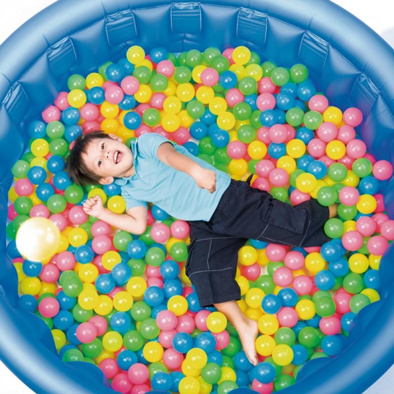 Bolsa de 100 bolas de colores Bestway - Outlet Piscinas d25e21de07c9b