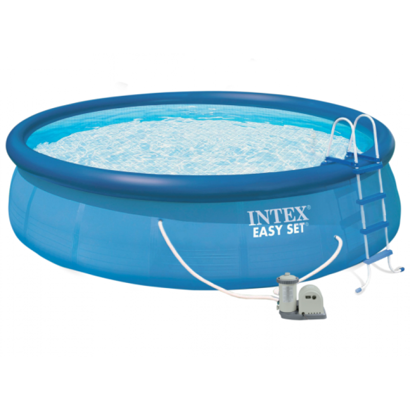 Piscina intex easy set 549 x 122 cm outlet piscinas for Piscina intex easy set