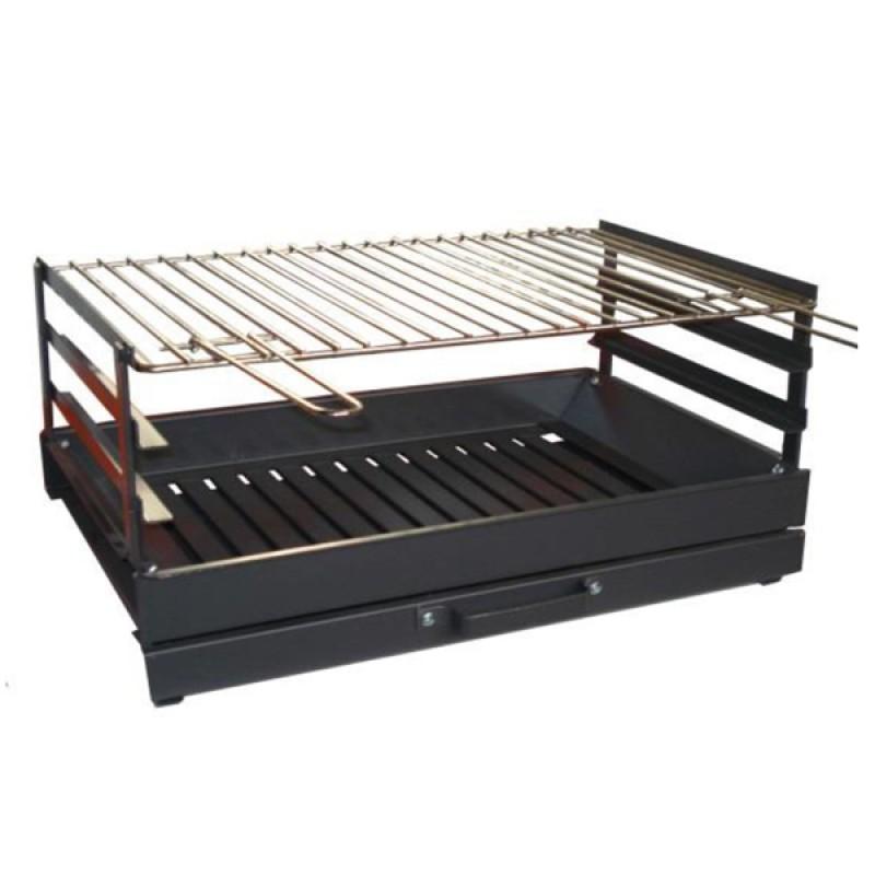 Barbacoa sobremesa carb n 2110 outlet piscinas - Carbon para barbacoa ...