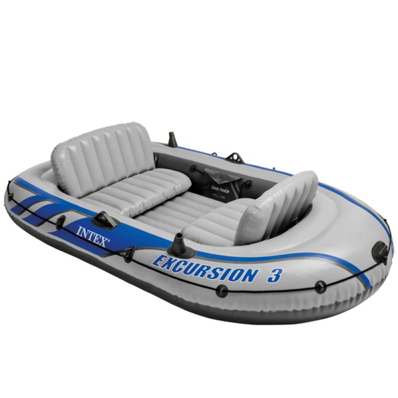 Barca hinchable Intex Excursión 3 | Outlet Piscinas