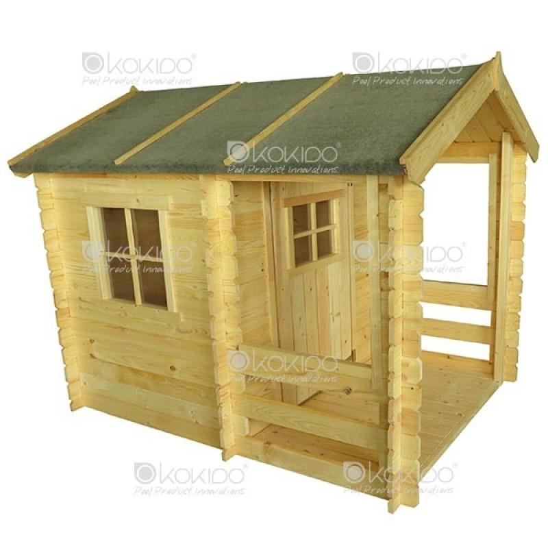 Casita de madera para ni os outlet piscinas - Caseta madera ninos ...