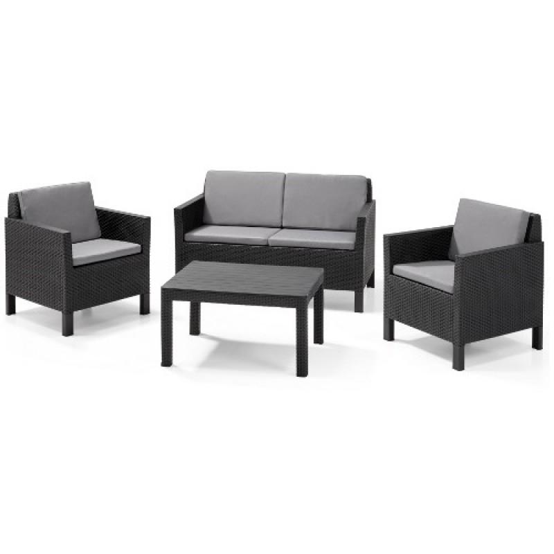 Muebles de jardín Chicago Lounge Set - Outlet Piscinas