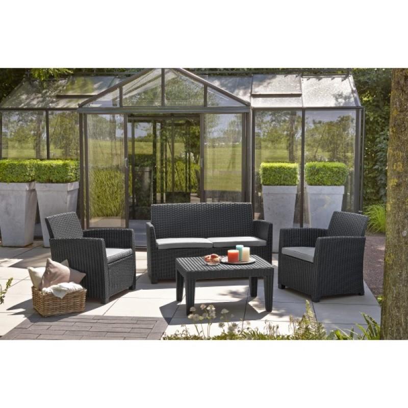 Muebles de jardín Lounge Set Corona - Outlet Piscinas
