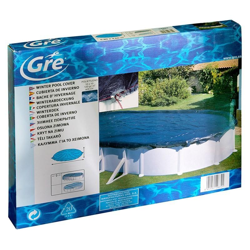 Cobertor invierno piscinas gre outlet piscinas for Oulet piscinas
