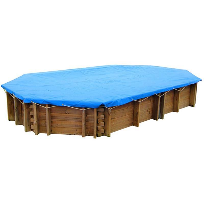 Cobertor invierno piscinas madera gre outlet piscinas for Piscina rectangular