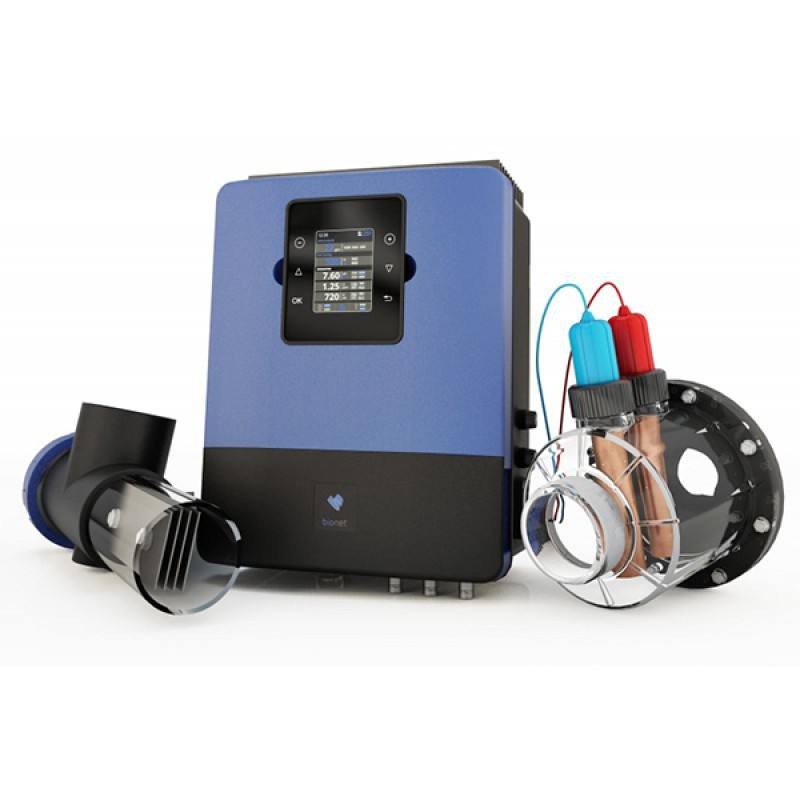 Clorador e ionizador bionet outlet piscinas for Ionizador piscina