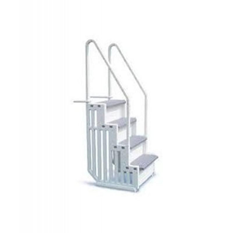 Escalera de seguridad 4 pelda os epe30 outlet piscinas - Peldanos de escaleras ...