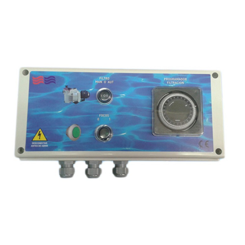 Cuadro el ctrico casetas fad caseta outlet piscinas for Casetas para guardar lena
