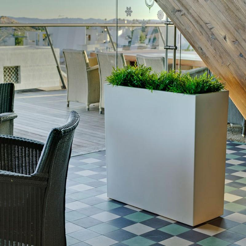 jardinera junco newgarden blanco interior