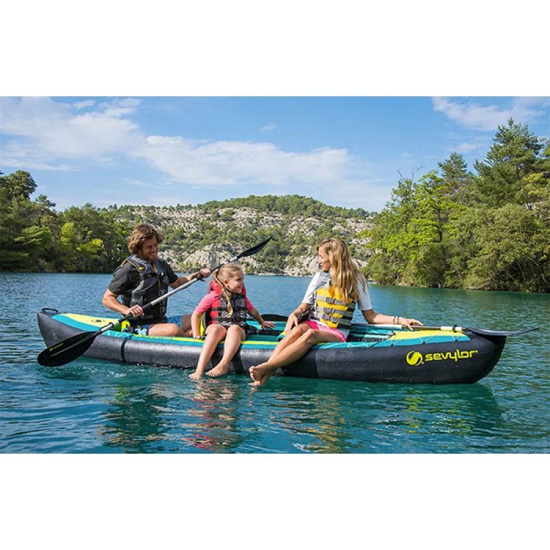 Kayak hinchable ottawa 3p 2000026702 outlet piscinas for Piscina canoe