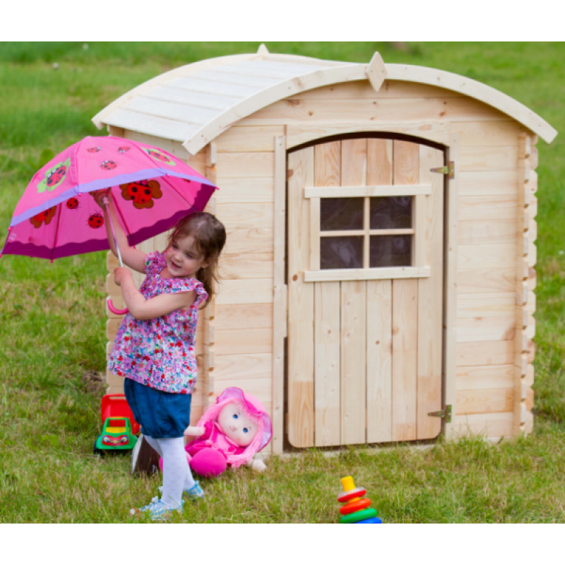 Casita de madera infantil outlet piscinas for Jardin infantil serrano 78