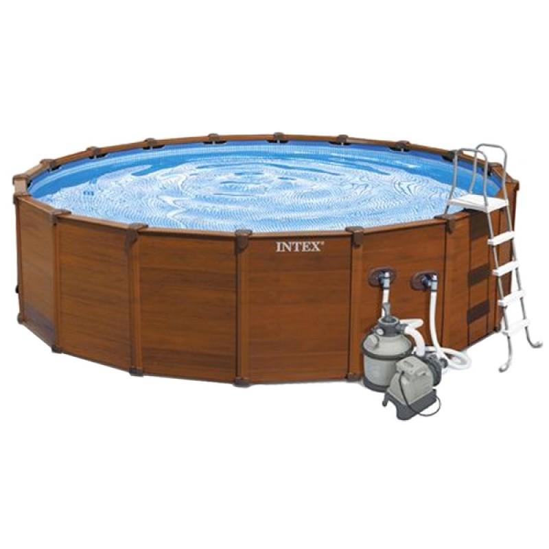 Piscina intex sequoia spirit 478x124 outlet piscinas for Outlet piscinas