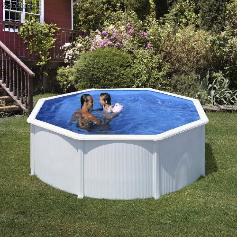 Piscina desmontable circular gre 120cm p300eco outlet for Oulet piscinas
