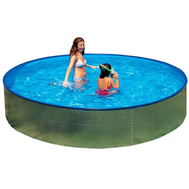 Piscina gre circular formentera outlet piscinas for Oulet piscinas