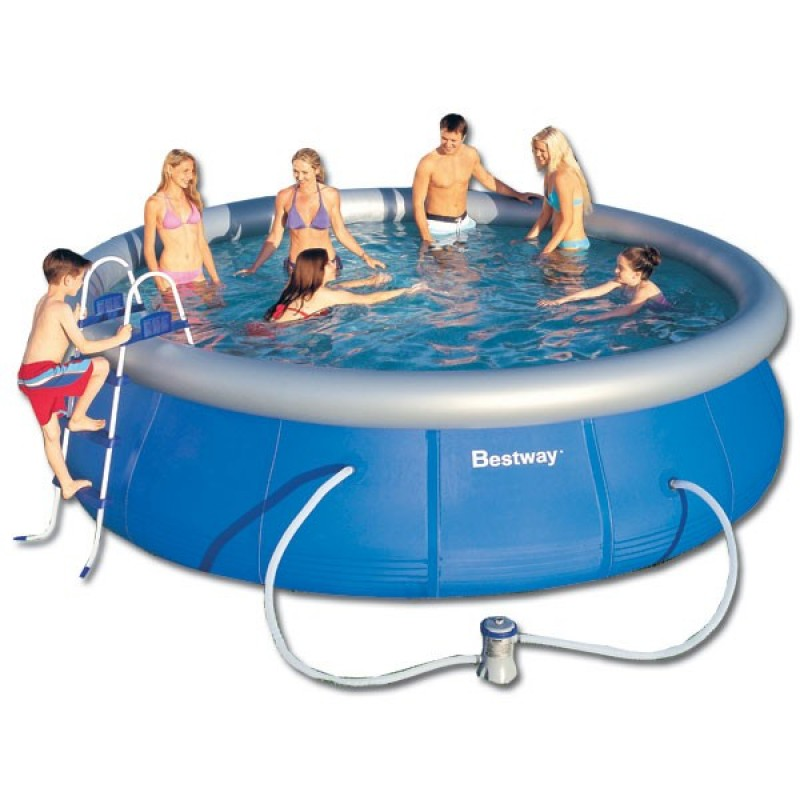 piscina hinchable bestway fast set 457x122