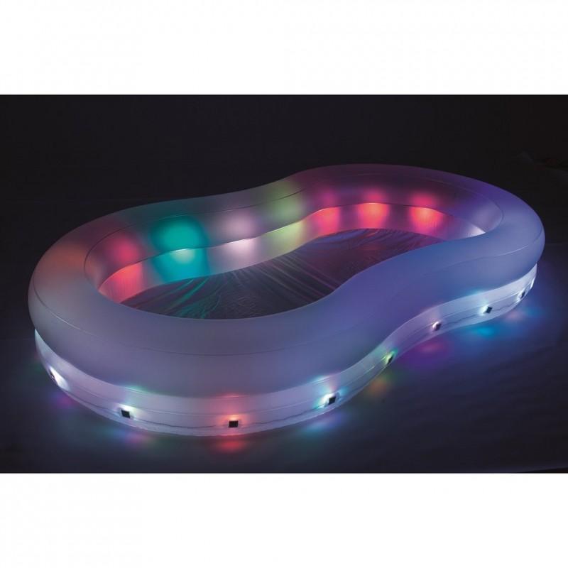 Piscina hinchable iluminada LED 54135 Outlet Piscinas