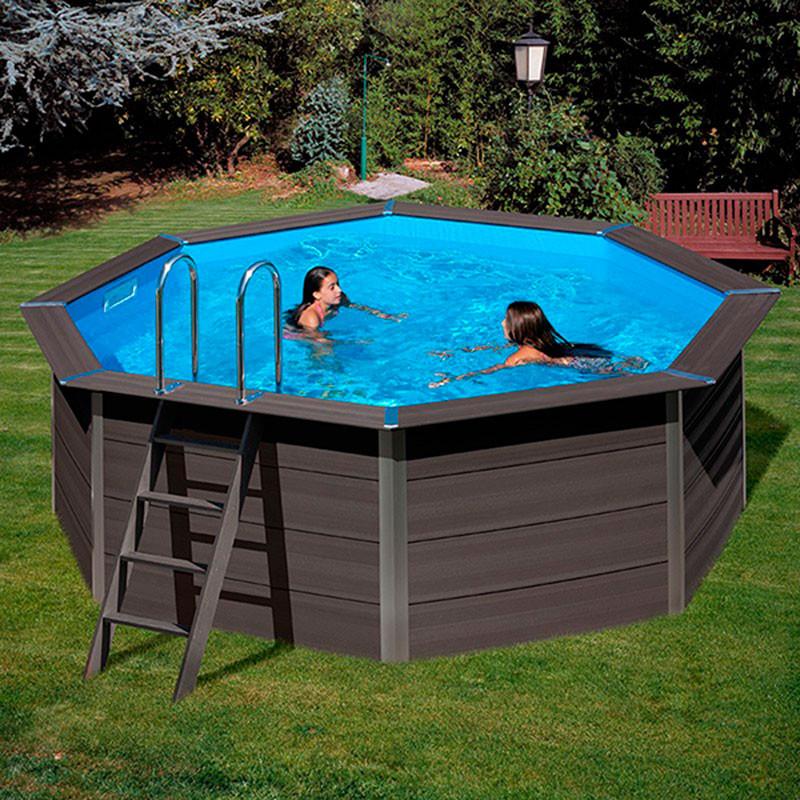 Piscina redonda composite gre kpco41 outlet piscinas for Oulet piscinas