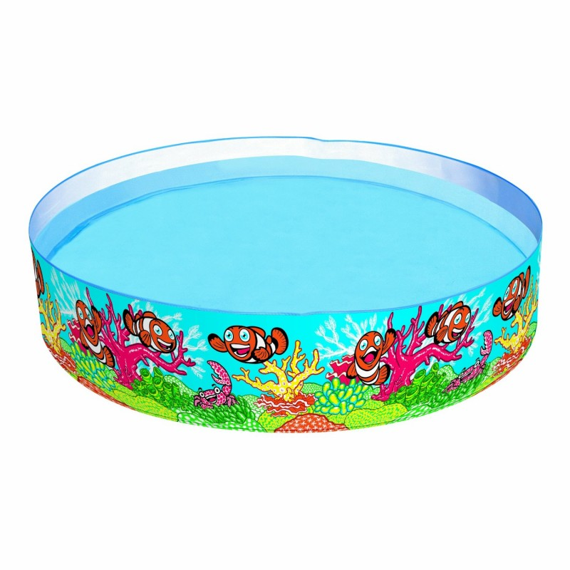 Piscina fondo marino bestway 55030 outlet piscinas for Piscina de plastico