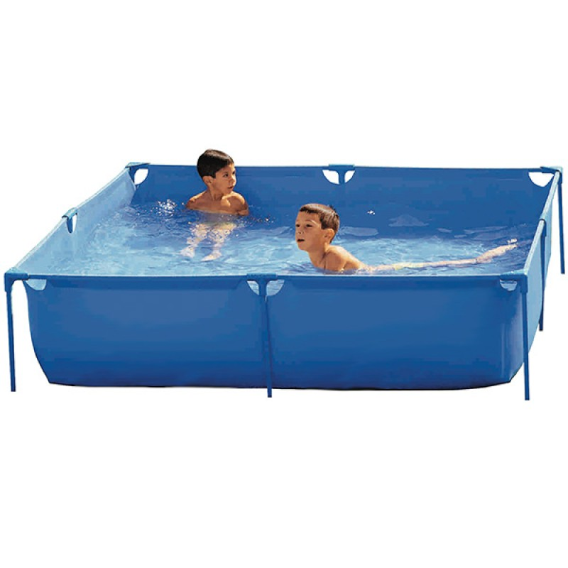 Piscina toi serie basic cuadrada outlet piscinas for Piscina hinchable carrefour