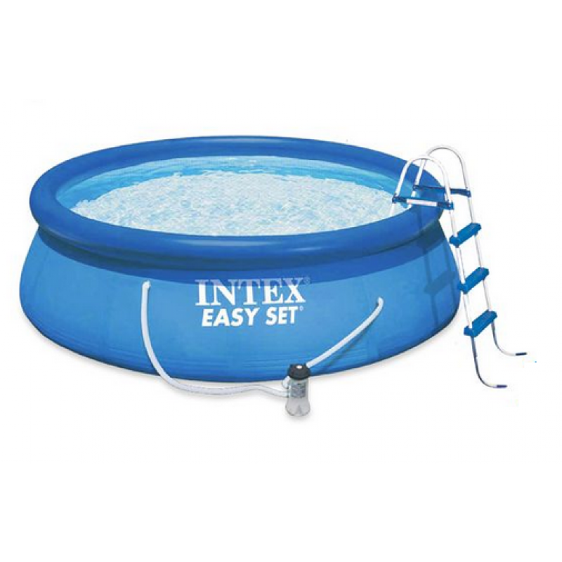 Piscina easy set intex 457 outlet piscinas for Piscina intex easy set