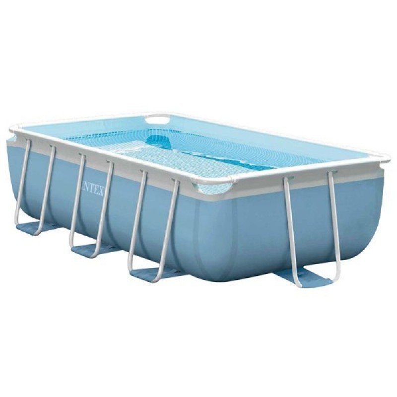 Piscina intex prisma 400x200x100cm outlet piscinas for Alberca intex