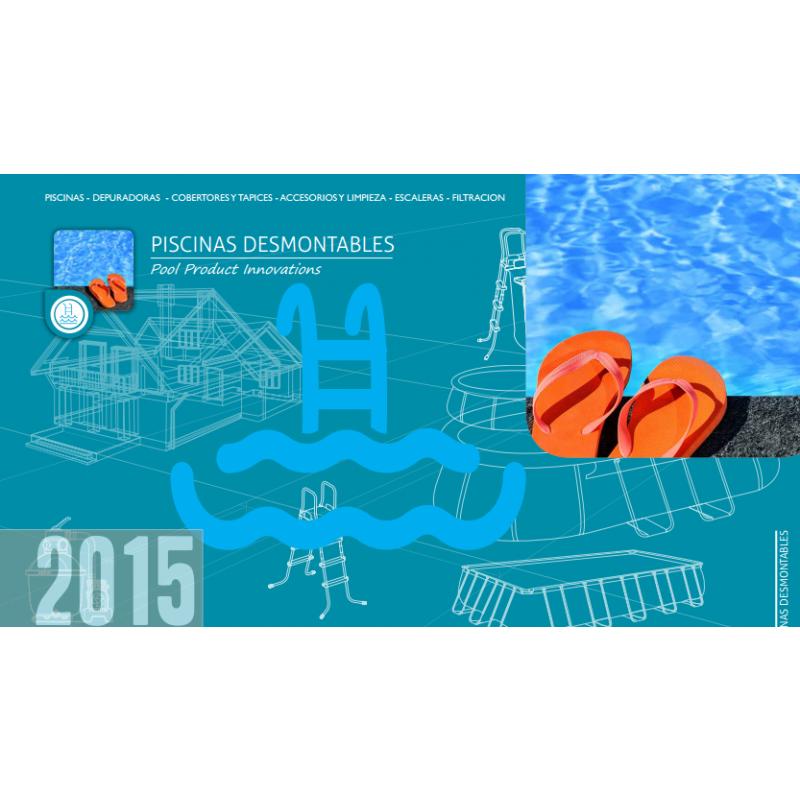 Cat logo piscinas kokido 2015 outlet piscinas for Catalogo piscinas