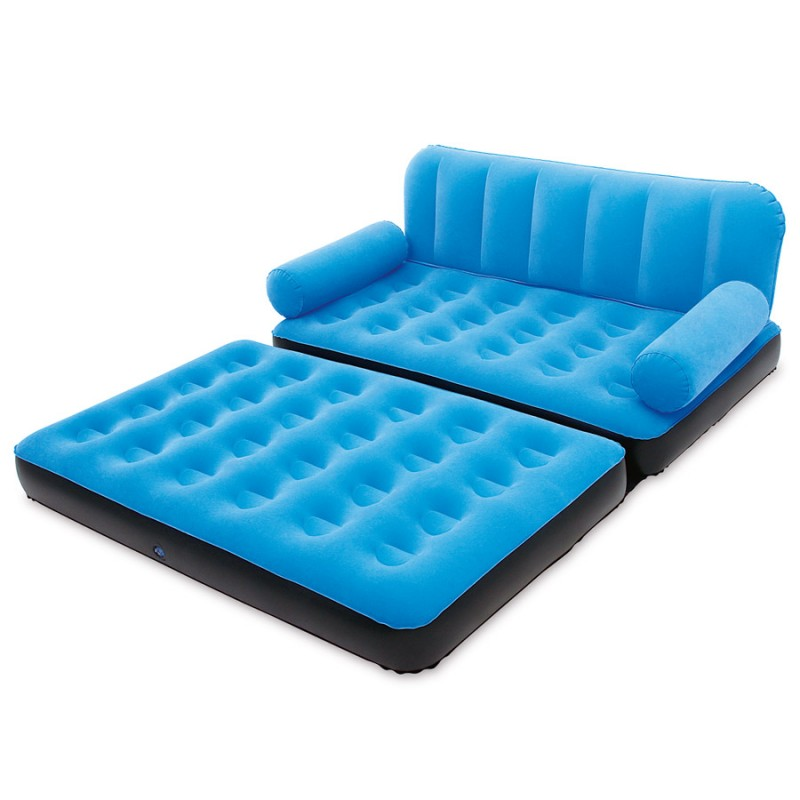 Sofa cama hinchable exterior