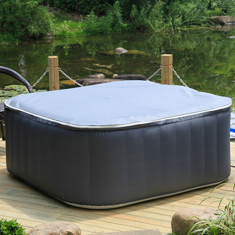 spa hinchable carre outlet piscinas. Black Bedroom Furniture Sets. Home Design Ideas