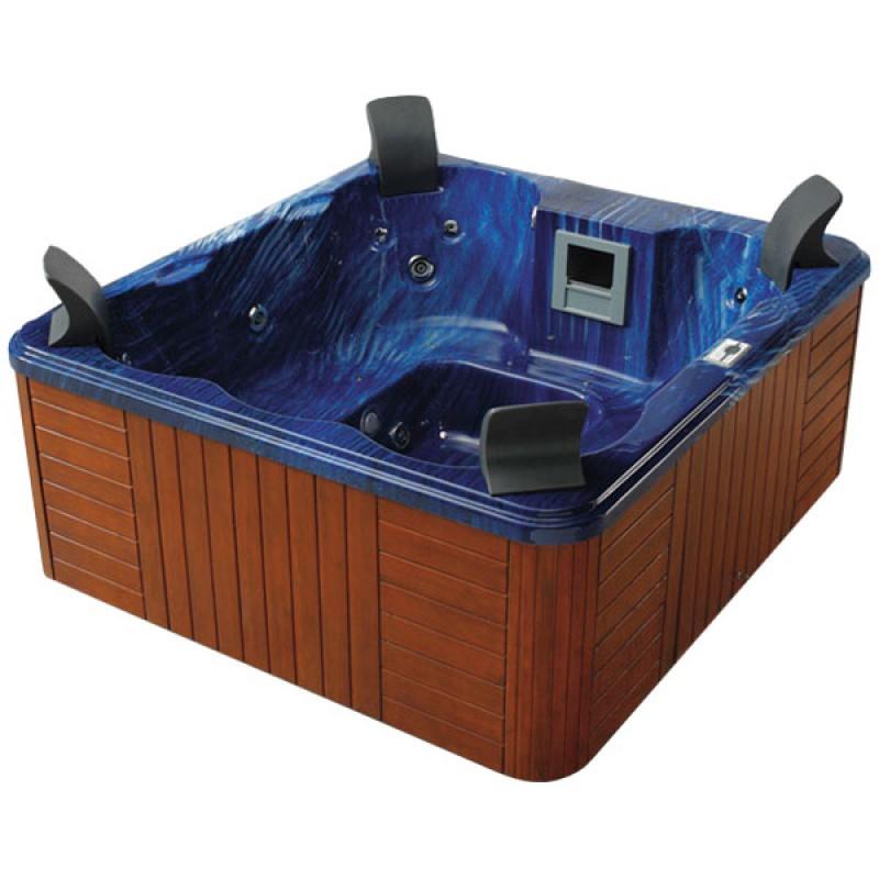 Spa buda outlet piscinas for Jacuzzi exterior 4 personas