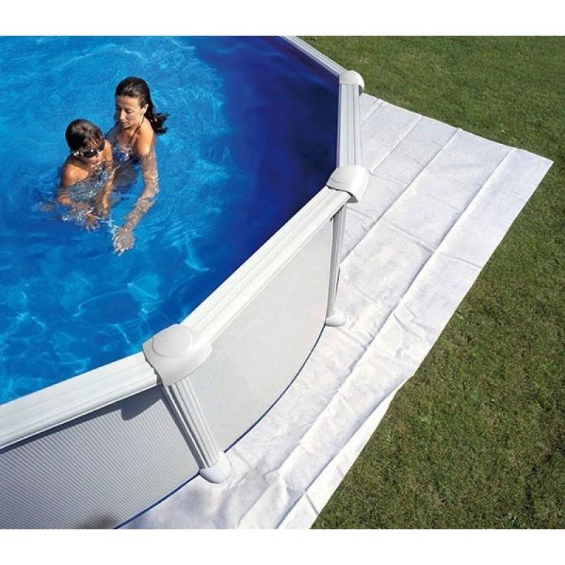 Piscinas elevadas piscina desmontable gre pacific - Suelo para piscina desmontable ...