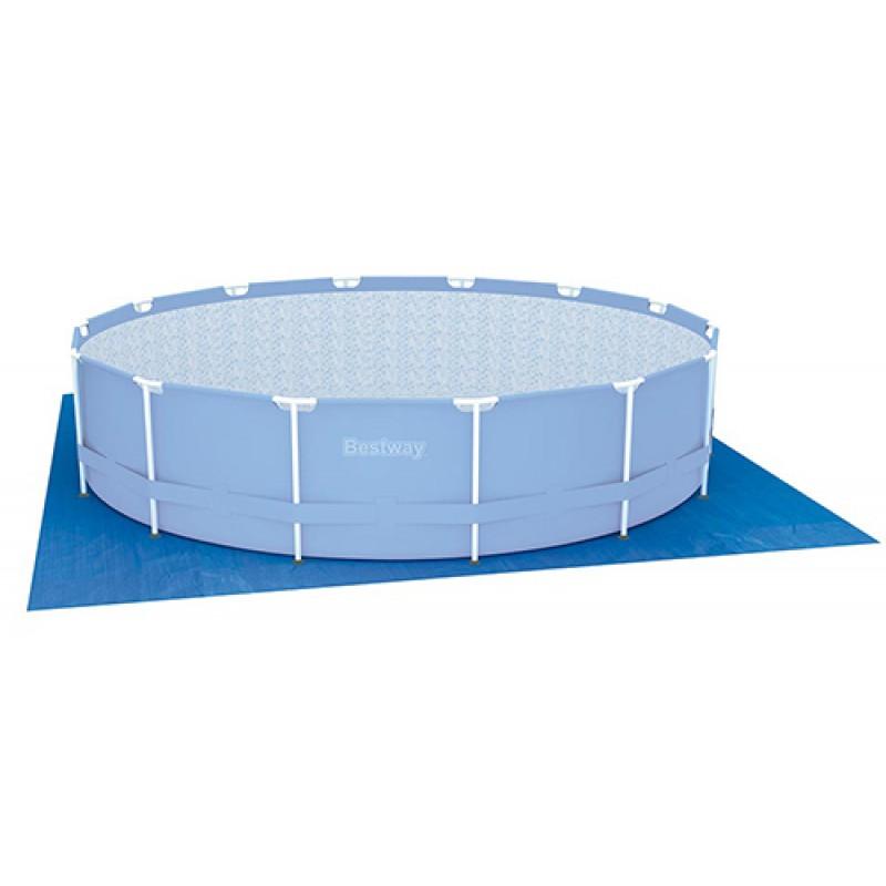 Tapiz suelo bestway piscina circular outlet piscinas for Accesorios piscinas desmontables