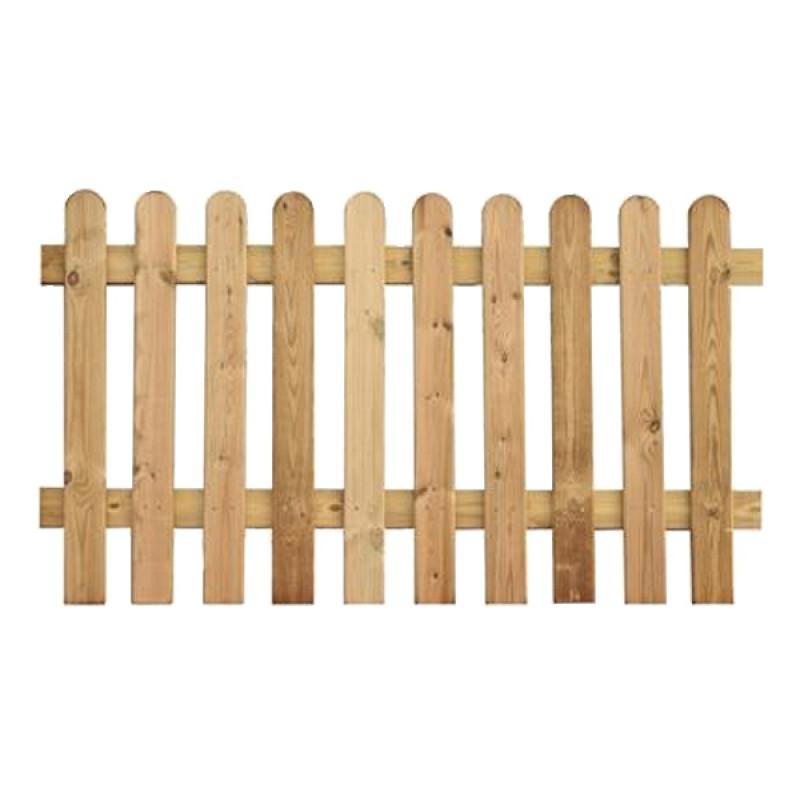 Valla de madera de pino flandes outlet piscinas - Vallas de plastico para jardin ...
