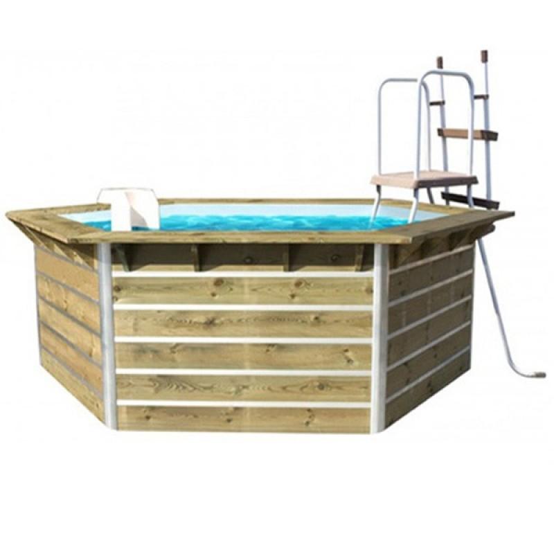 Piscina de madera water clip outlet piscinas - Madera para piscinas ...