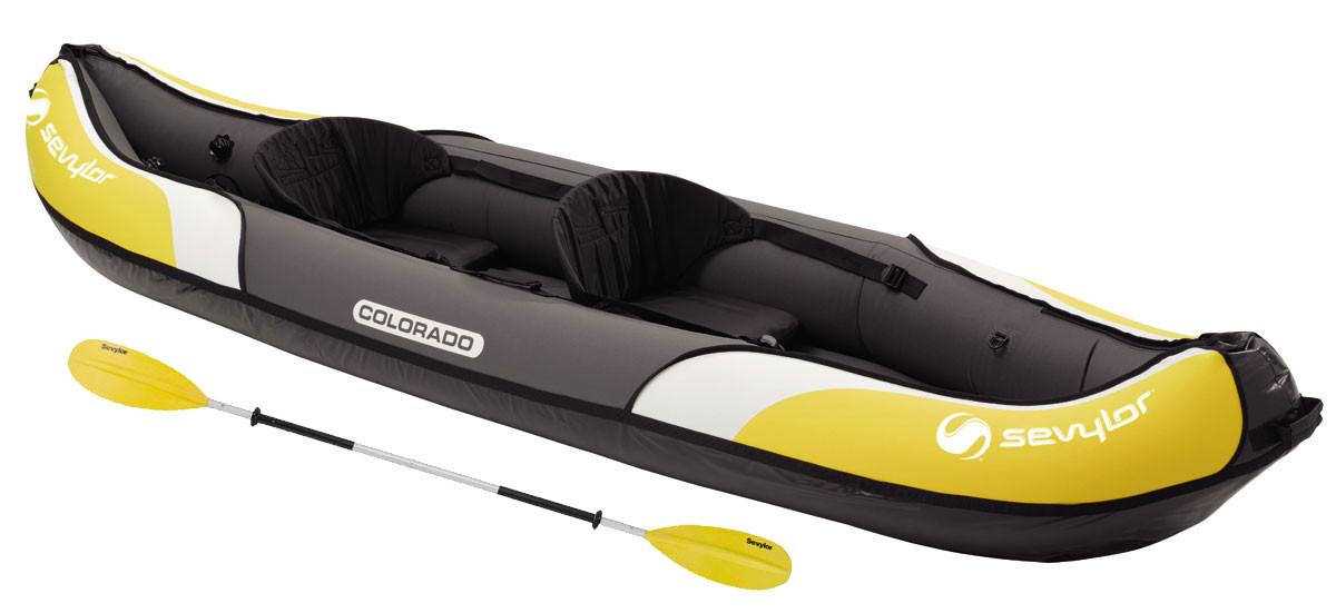 Kayak new colorado kit sevylor outlet piscinas for Piscina canoe