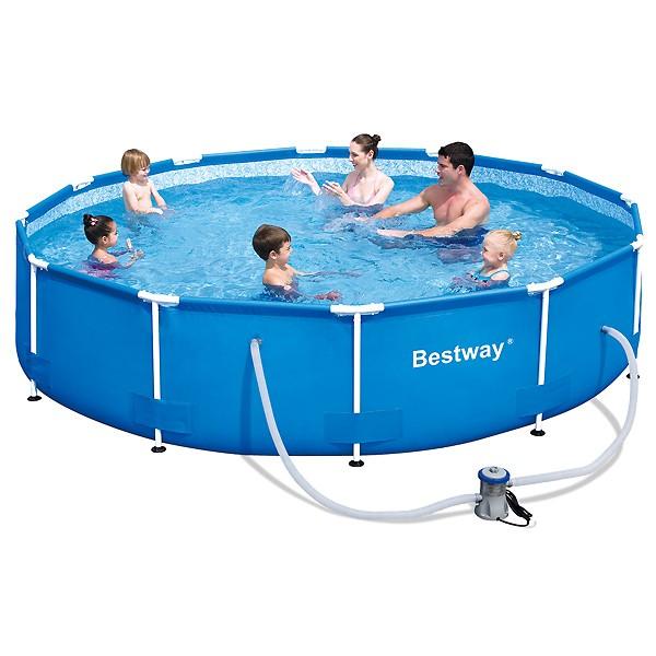 Piscina bestway steel pro 366 x 76 outlet piscinas for Outlet piscinas