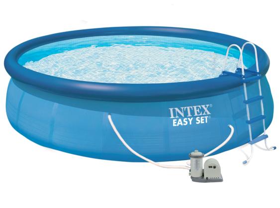 Piscina intex easy set 549 x 122 cm outlet piscinas for Cubre piscinas intex