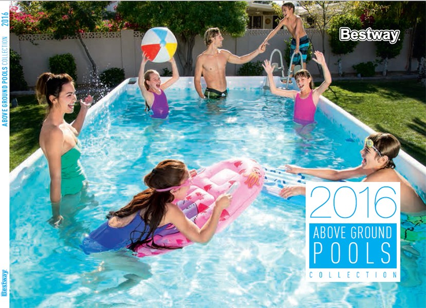 Cat logo bestway 2016 outlet piscinas for Alcampo piscinas desmontables 2016