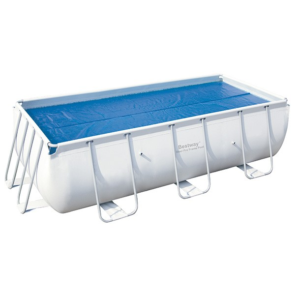 Cobertor solar rectangular bestway 58240 outlet piscinas for Cubre piscina bestway