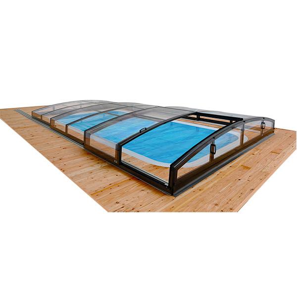 Cubierta piscina casablanca infinity outlet piscinas for Oulet piscinas