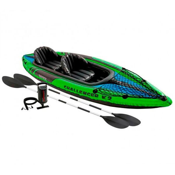 Kayak challenger k2 de intex outlet piscinas for Piscina canoe