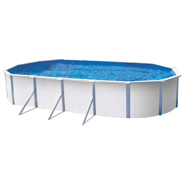 Piscina de acero k2o ocean ovalada outlet piscinas for Piscina acero